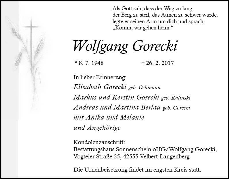 08.03_Gorecki, Wolfgang