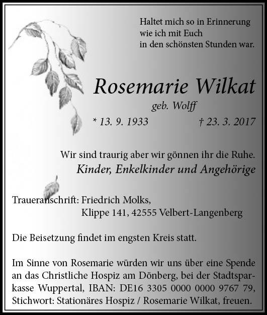 25.03_Wilkat, Rosemarie