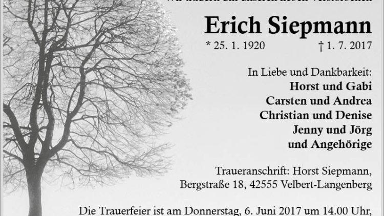 Erich Siepmann