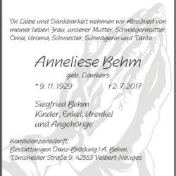 Anneliese Behm