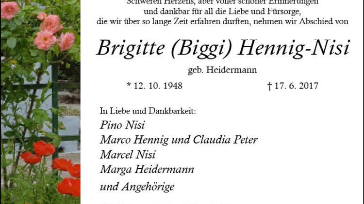 Brigitte Hennig-Nisi