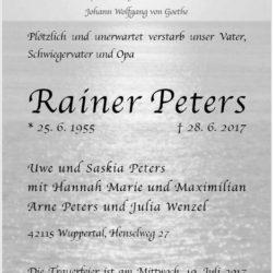 Rainer Peters