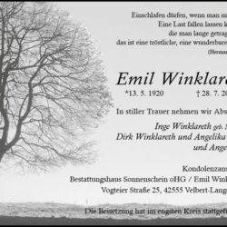 Emil Winklareth