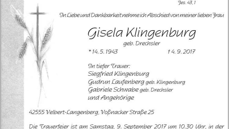 Gisela Klingenburg