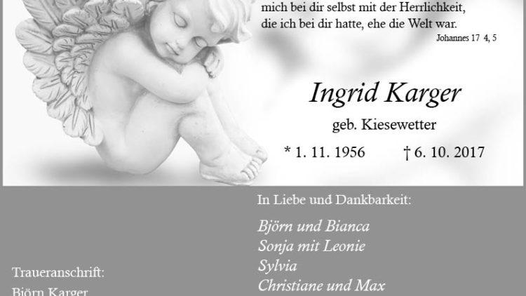 Ingrid Karger