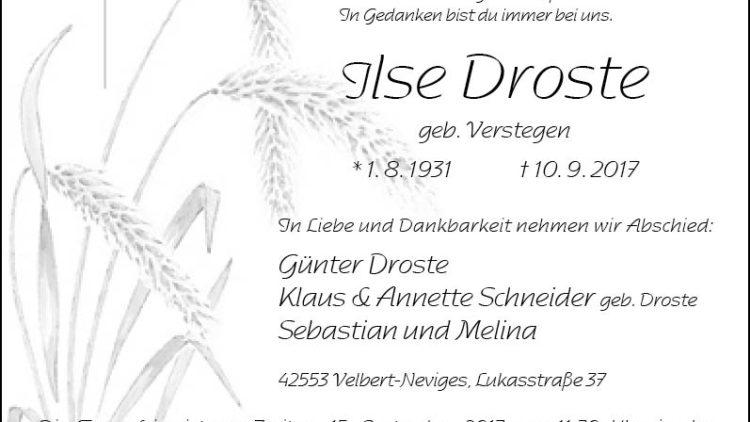Ilse Droste