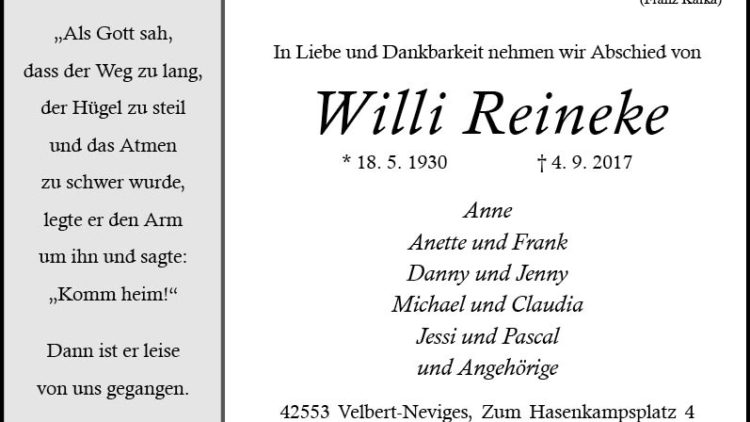 Willi Reineke