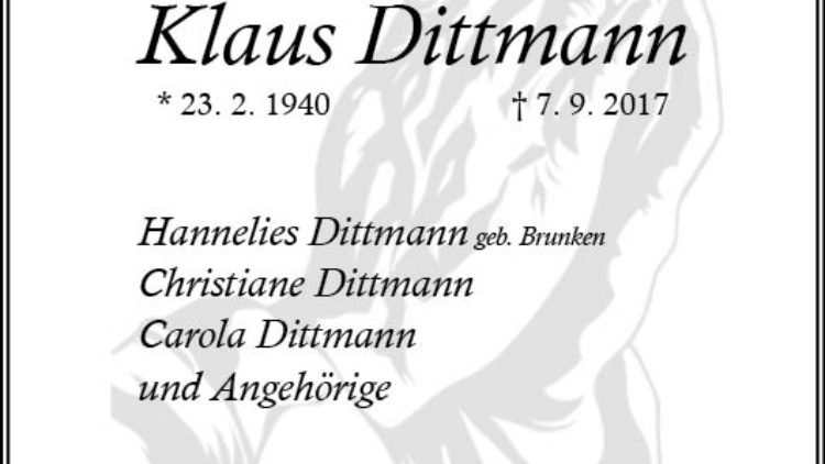 Klaus Dittmann