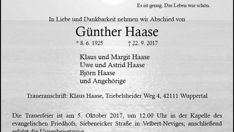 Günther Haase