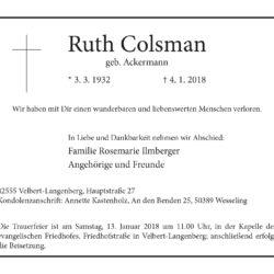 Ruth Colsman