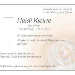 Heidi Kleine