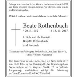 Beate Rothenbach
