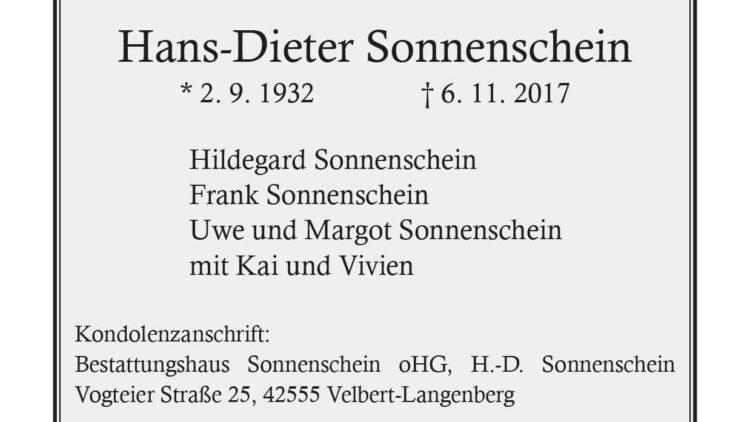 Hans-Dieter Sonnenschein