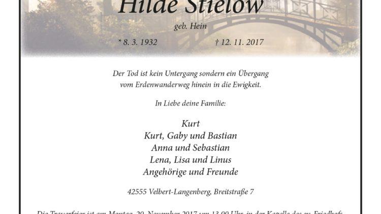 Hilde Stielow