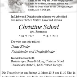 Christine Scherl