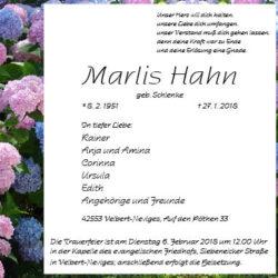 Marlis Hahn