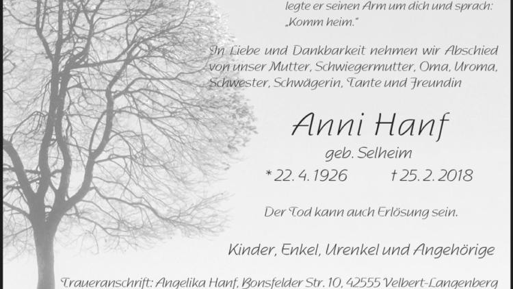 Anni Hanf