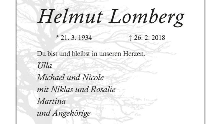 Helmut Lomberg