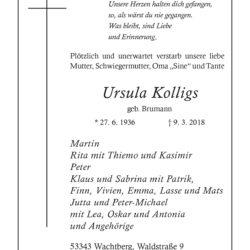Ursula Kolligs