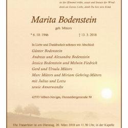 Marita Bodenstein