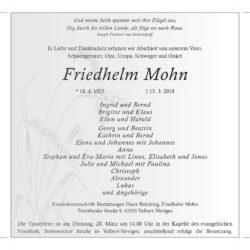 Friedhelm Mohn