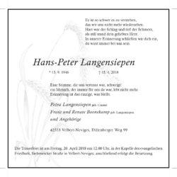 Hans-Peter Langensiepen