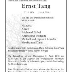 Ernst Tang