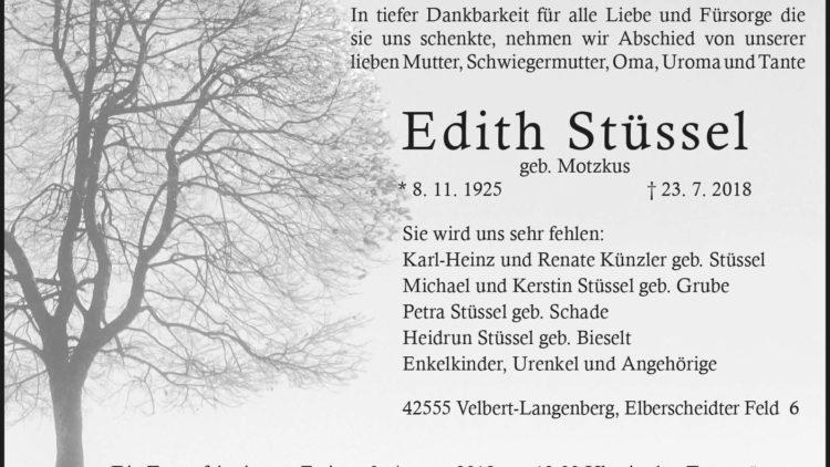 Edith Stüssel