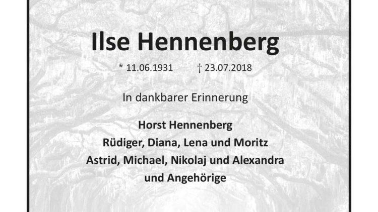 Ilse Hennenberg