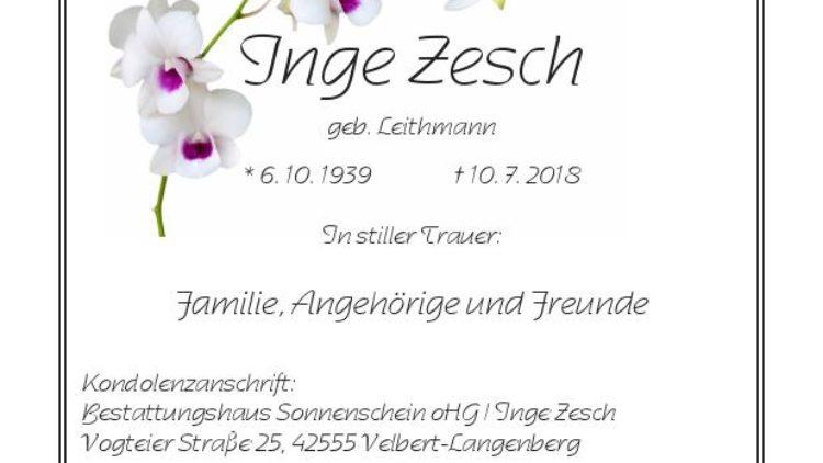 Inge Zesch