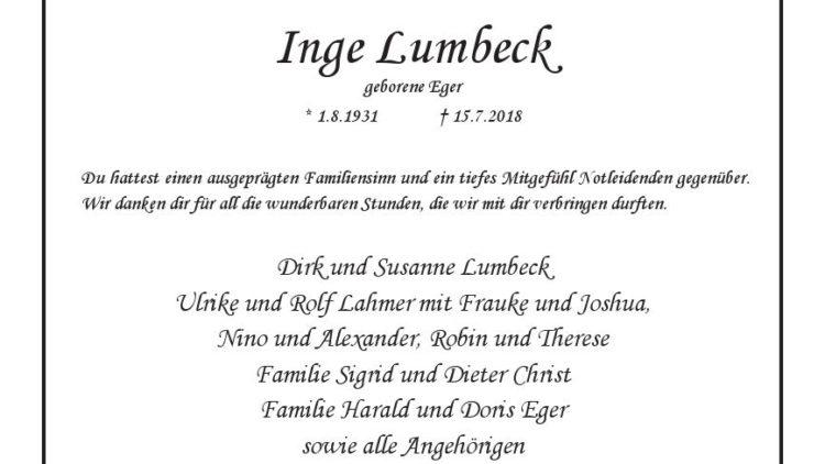 Inge Lumbeck
