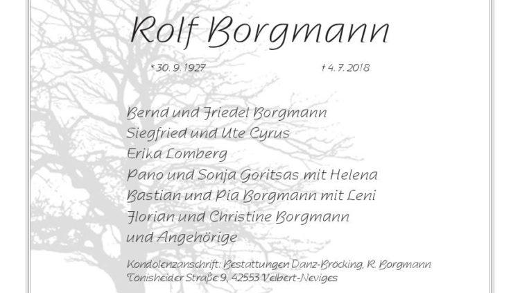 Rolf Borgmann