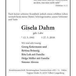 Gisela Dahm