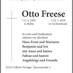 Otto Freese