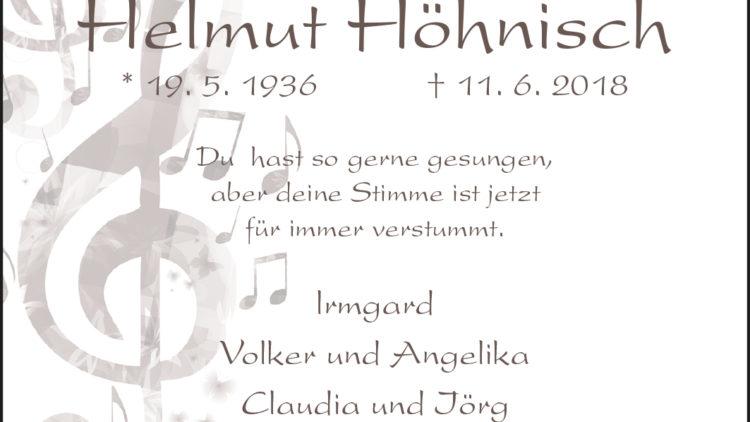 Helmut Höhnisch
