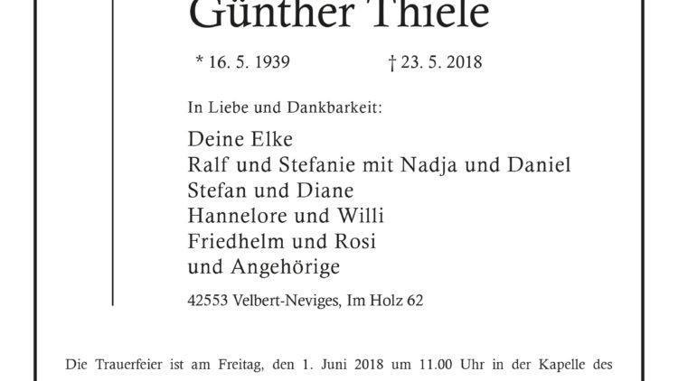 Günther Thiele