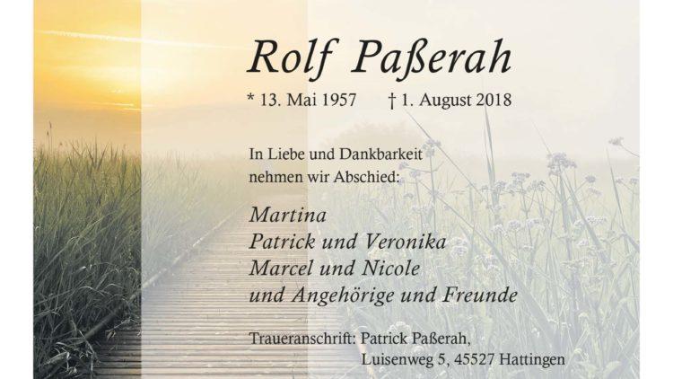 Rolf Paßerah