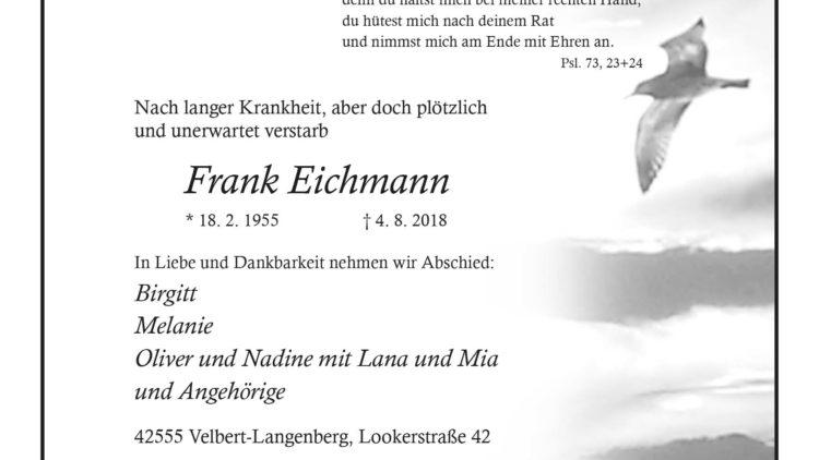 Frank Eichmann