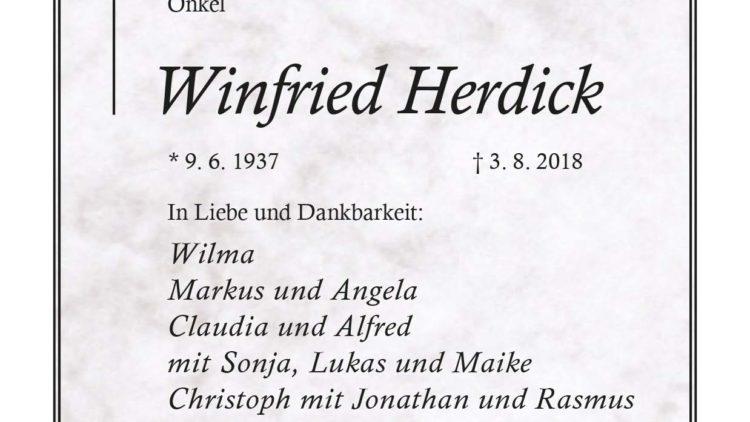 Winfried Herdick