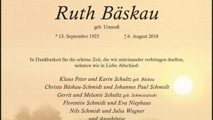 Ruth Bäskau
