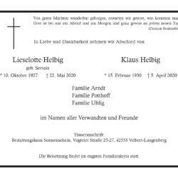 Lieselotte & Klaus Helbig