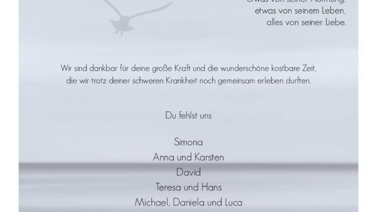 Horst Menzner † 10. 7. 2020