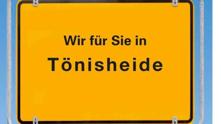 """Wir für Sie in """"Tönisheide"""""""
