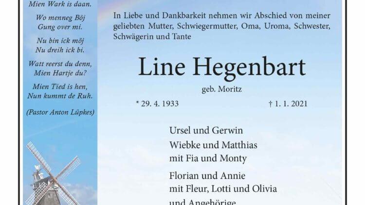 Line Gegenpart † 1. 1. 2021